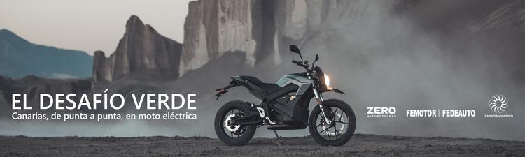 Dos motos eléctricas ZERO atravesarán Canarias, de punta a punta desde Órzola al Hierro