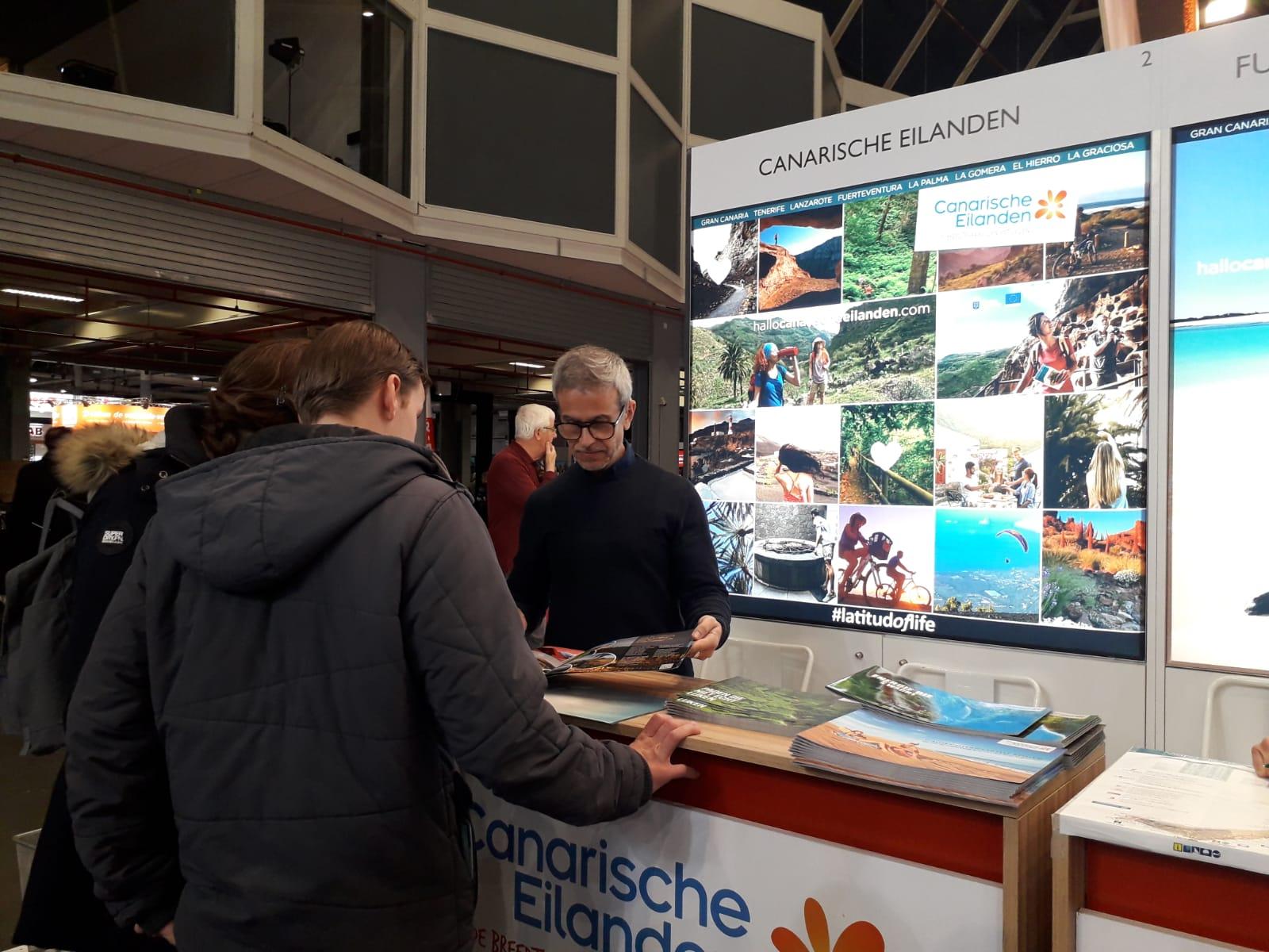 Turismo de Islas Canarias presente en la feria holandesa Vakantiebeurs para recuperar el turismo de Países Bajos