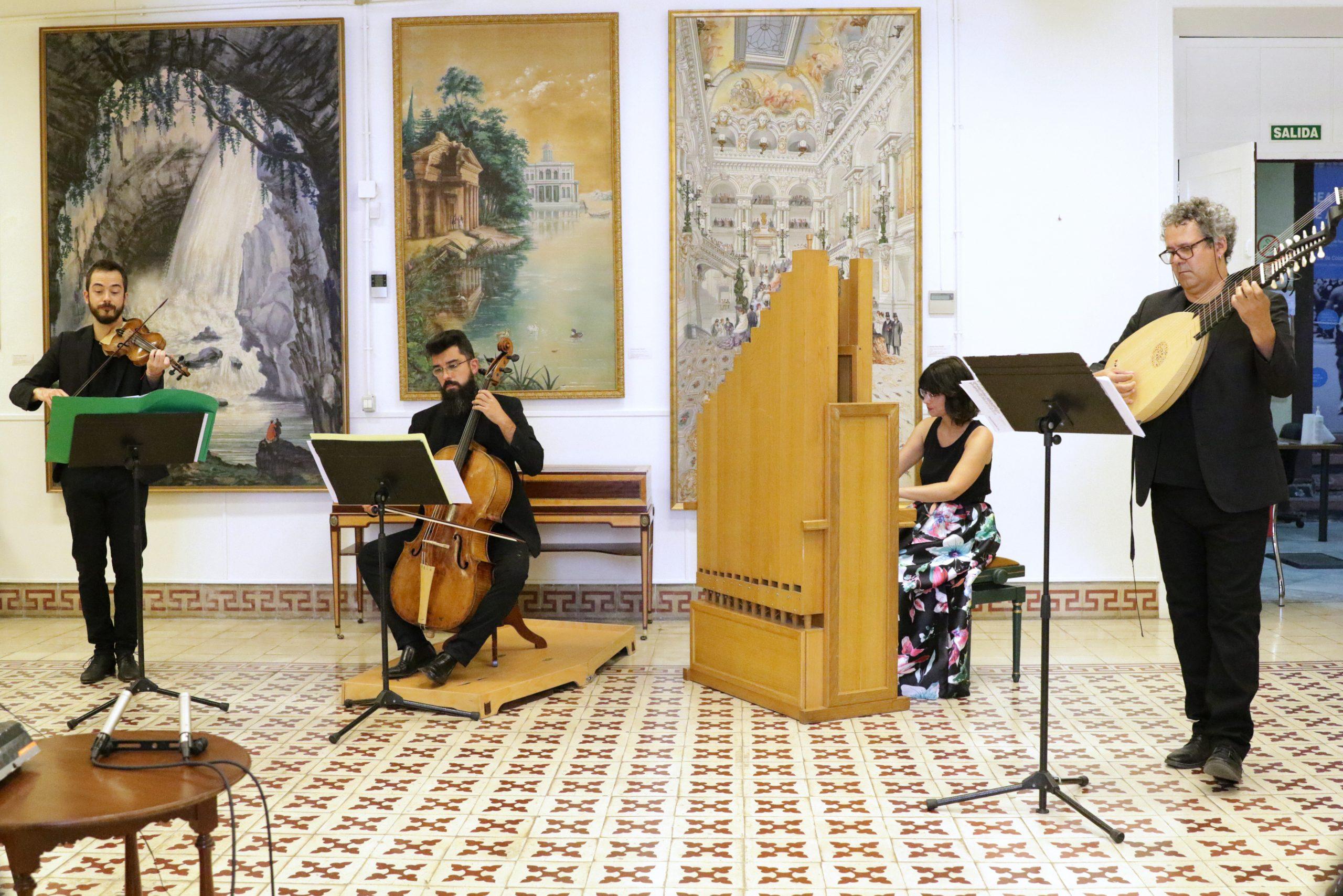 La Real Academia de Bellas Artes ofrece el concierto de verano con El Afecto Ilustrado y obras de José Palomino