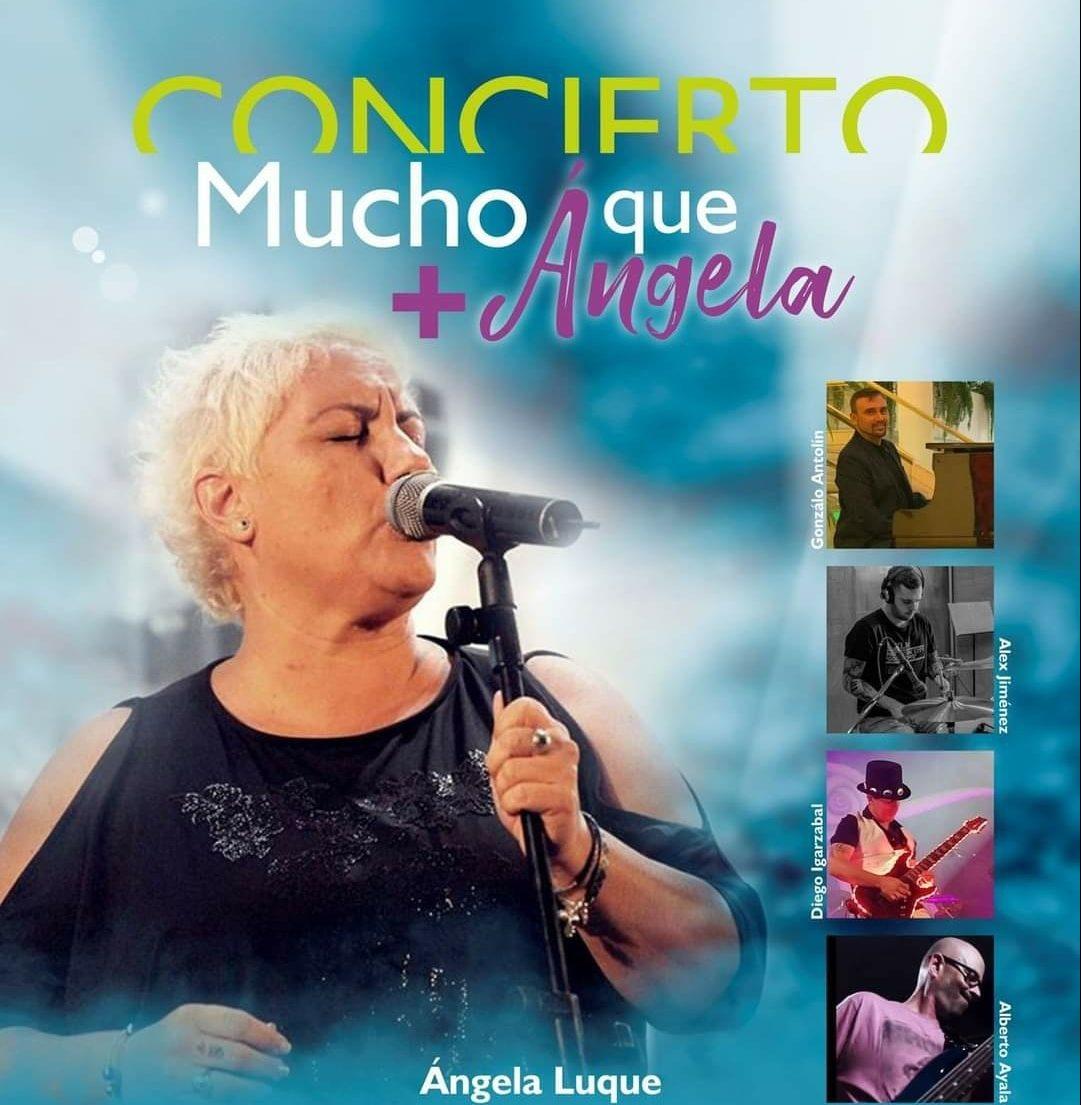 Concierto 'Mucho + que Ángela'