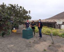 65 familias de Lanzarote y La Graciosa participan en un proyecto piloto de compostaje doméstico