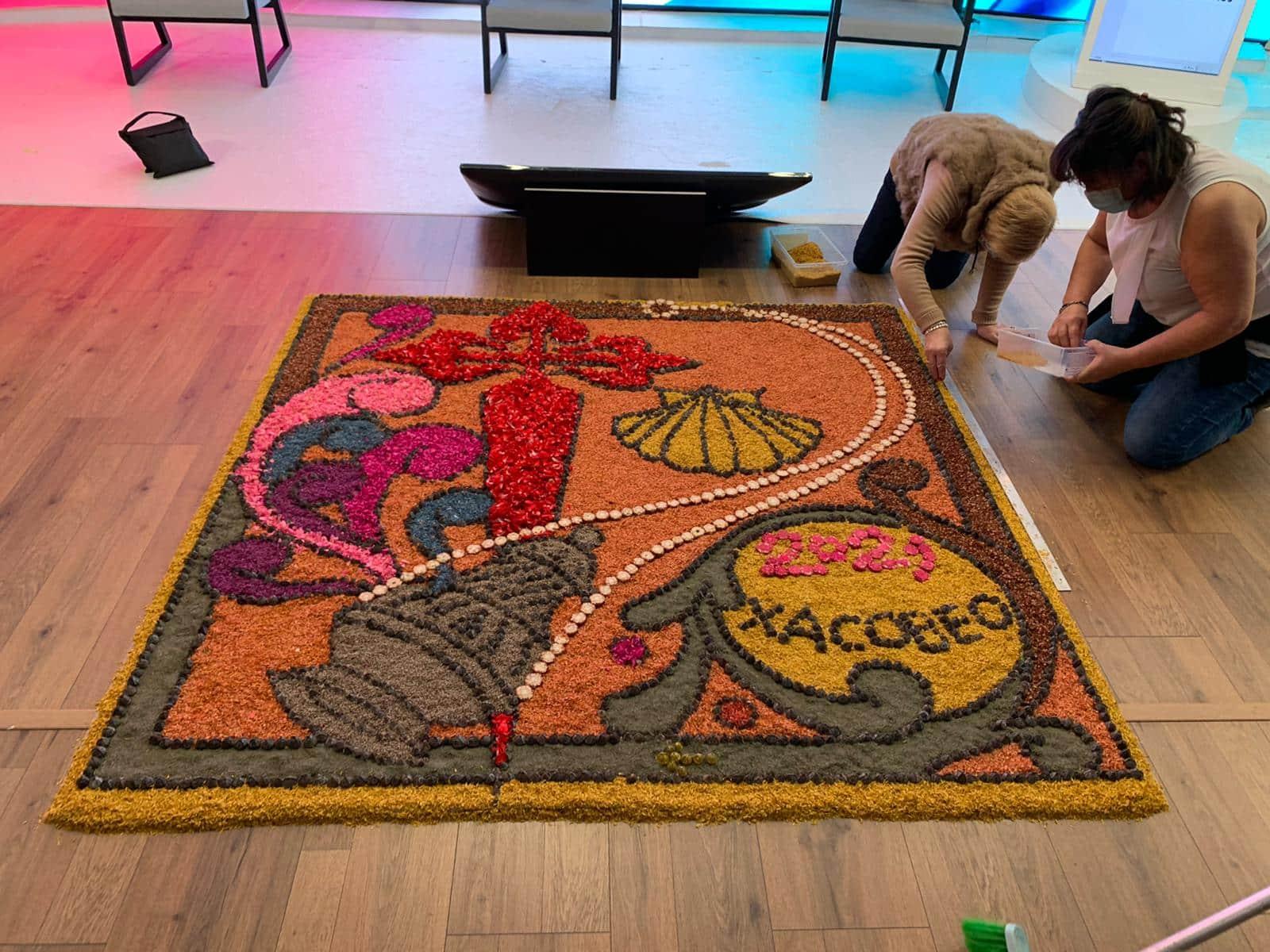 Teguise se une a 250 ciudades de 30 países que realizarán la alfombra mundial del Xacobeo 2021