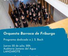 El universo barroco de Bach sonará en los Jameos del Agua con la Orquesta de Friburgo