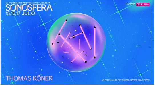TEA inaugura con la presencia de Thomas Köner Sonosfera, un programa sobre música nueva y experimental