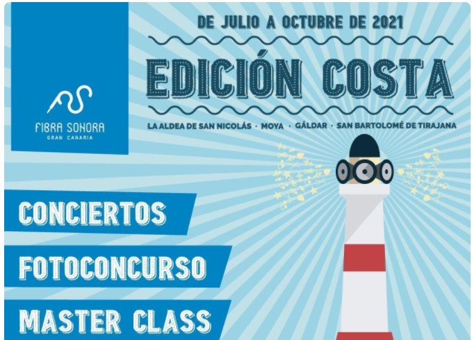 Festival 'Gran Canaria Fibra Sonora 2021'. Edición Costa