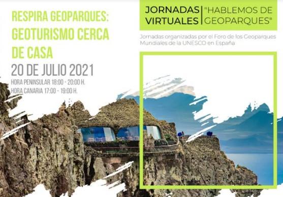 El Cabildo de Lanzarote organiza la tercera sesión de las Jornadas Virtuales 'Hablemos de Geoparques'