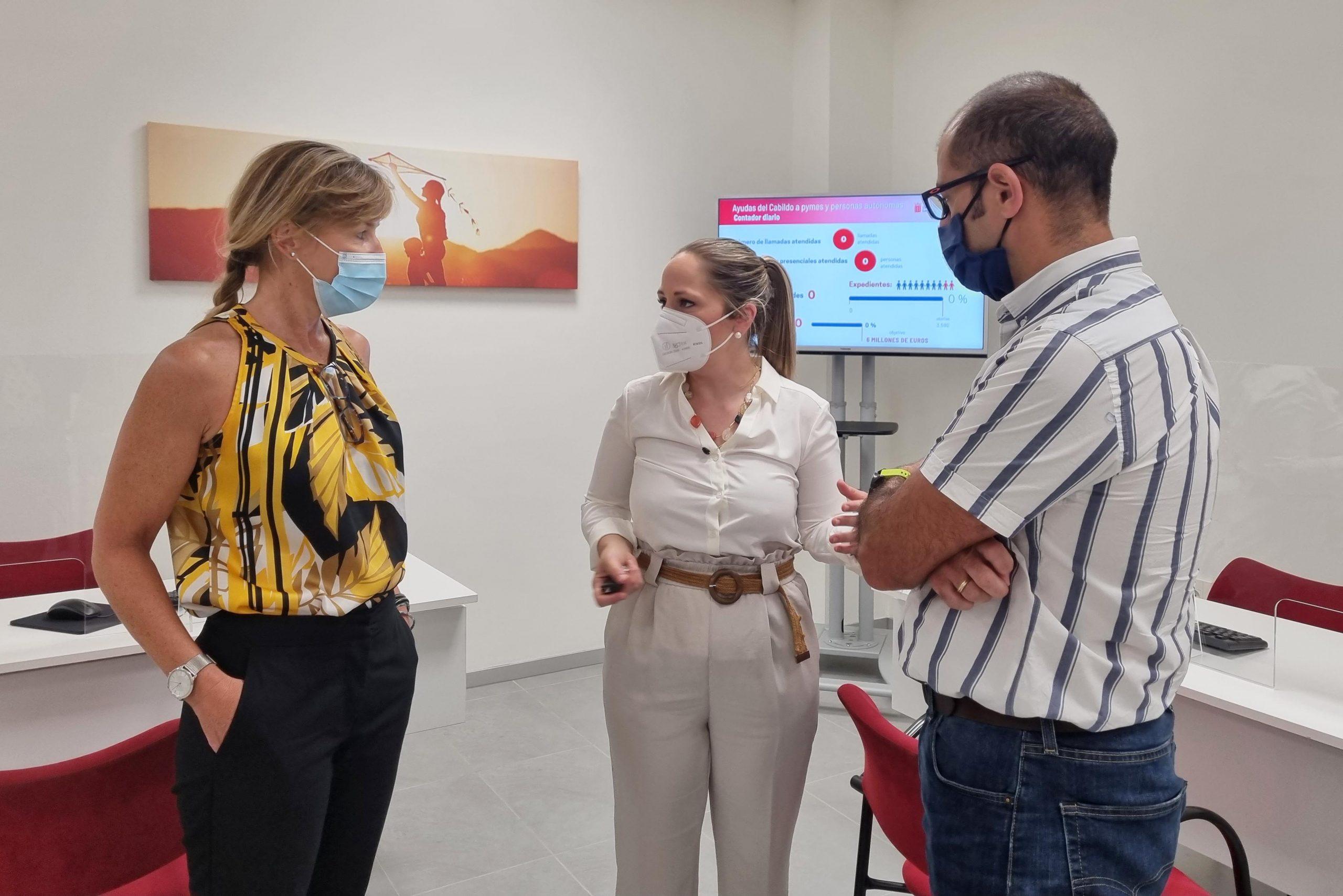 Solicitados casi un millón de euros en los primeros días de vigencia de las ayudas del Cabildo de Lanzarote