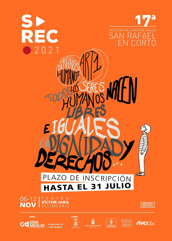 Concluye el plazo de inscripción de cortometrajes para el festival San Rafael en Corto 2021