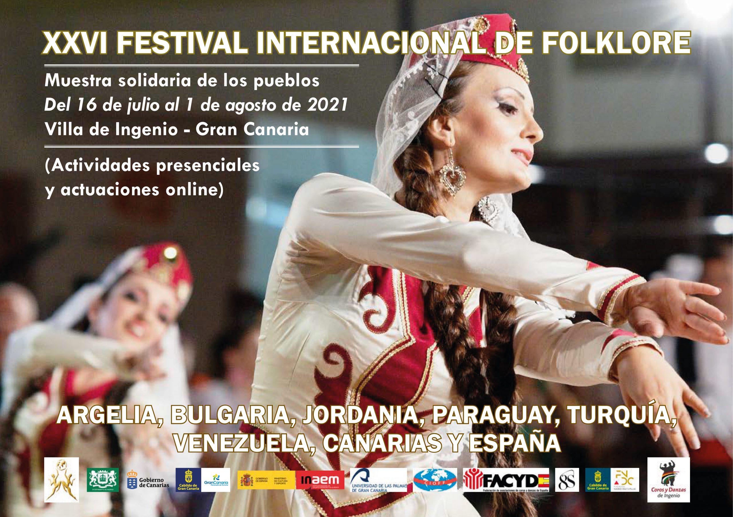 Ingenio emitirá por televisión la clausura de su Festival Internacional de Folclore