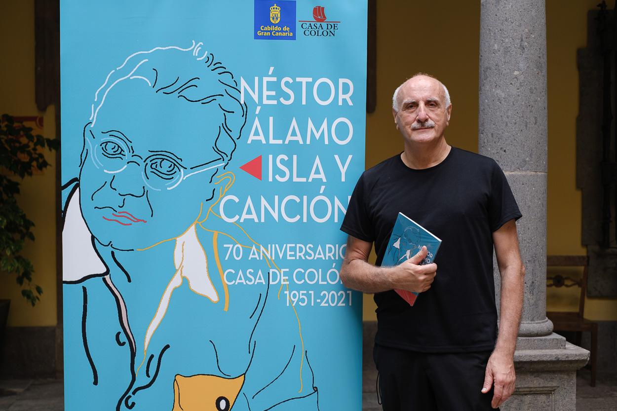 """José Luis Gago: """"La portada verde de la Casa de Colón es un icono de la arquitectura de la capital"""""""