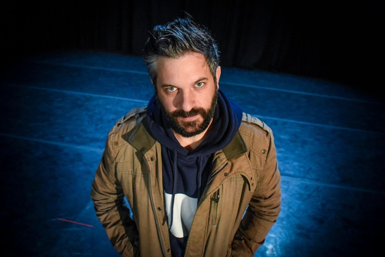 El dramaturgo uruguayo Gabriel Calderón mantiene un encuentro con el público en la Casa-Museo Pérez Galdós
