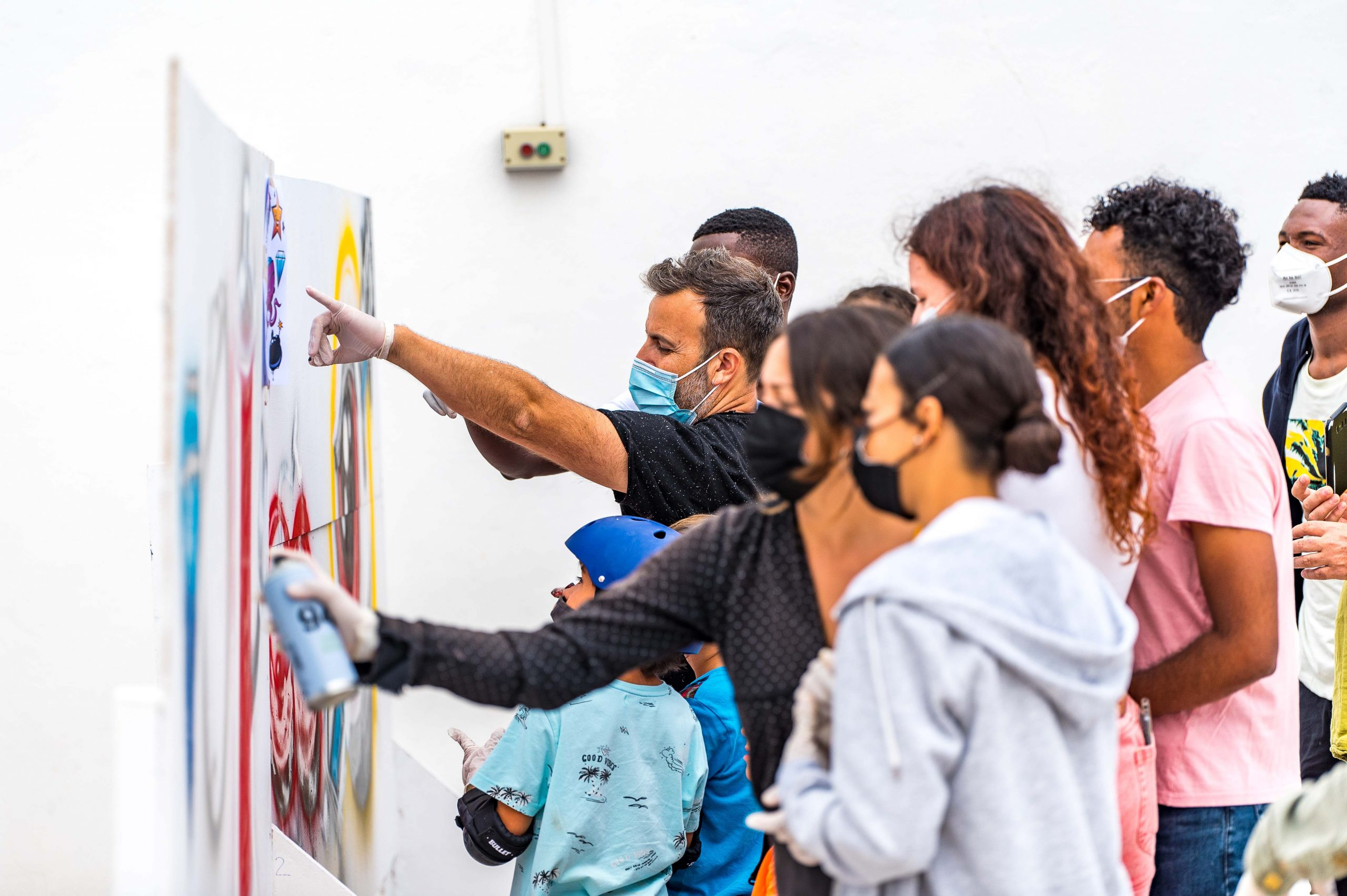 Éxito de participación en la inauguración del Espacio Joven de San Bartolomé