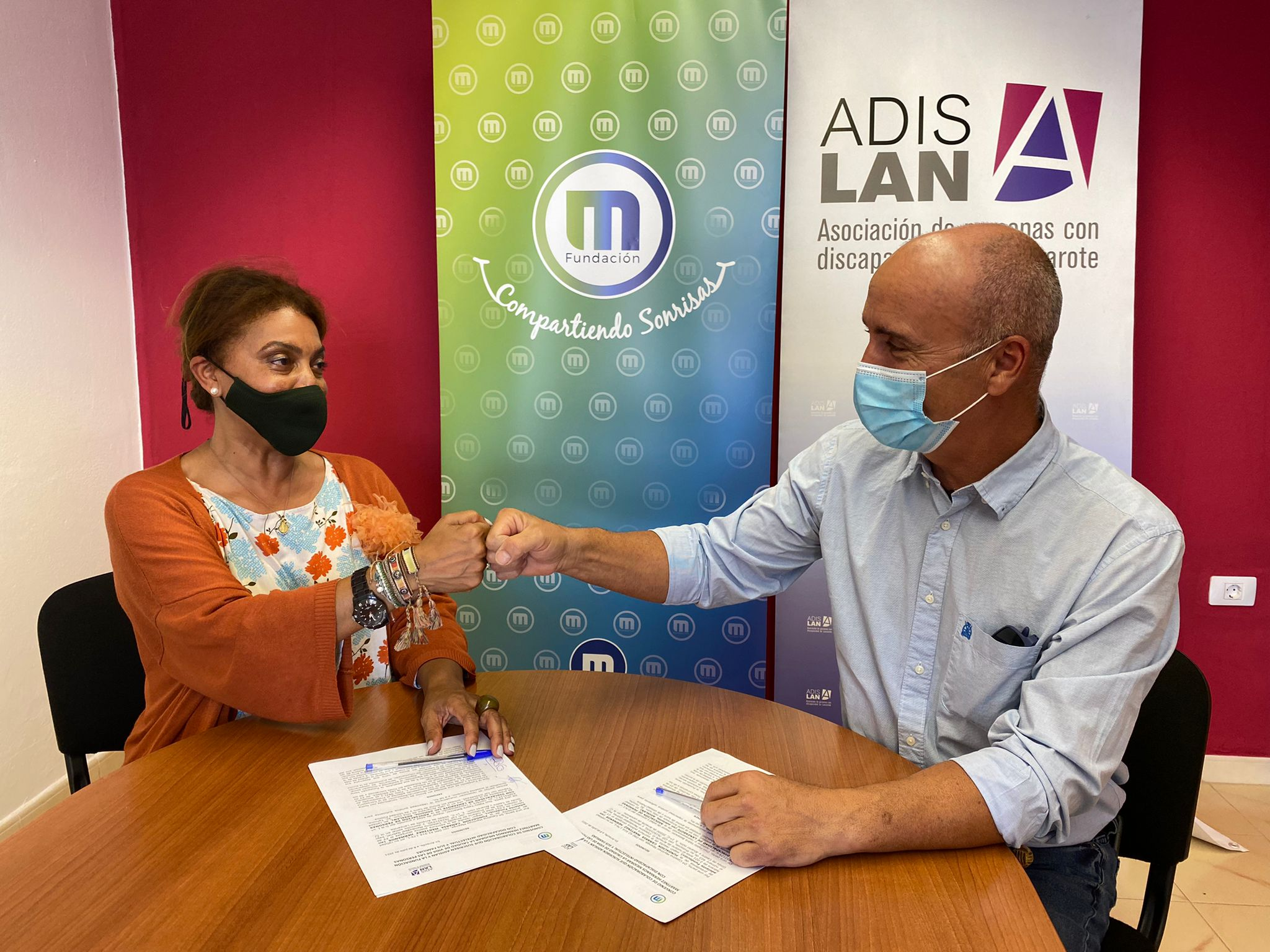 La Fundación Martínez Hermanos y ADISLAN firman un acuerdo estratégico para apoyar al colectivo de personas con discapacidad intelectual