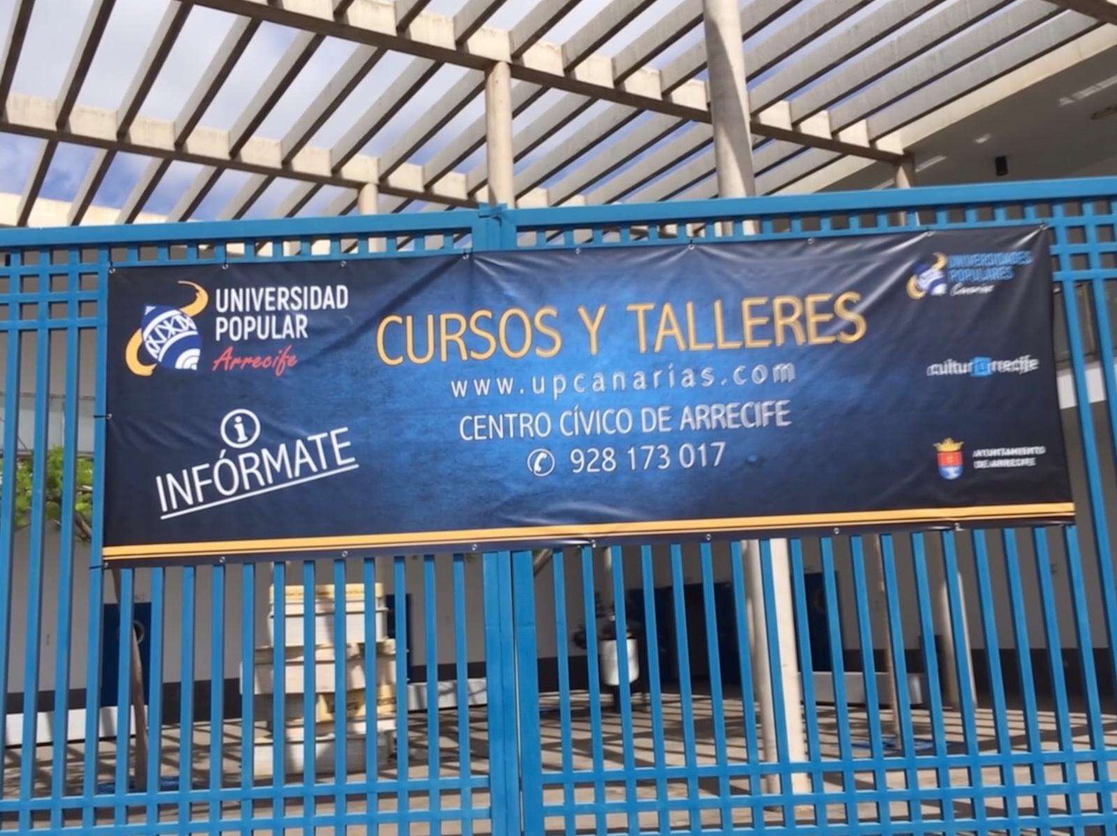 La Universidad Popular de Arrecife oferta dos cursos de verano en el Centro Cívico