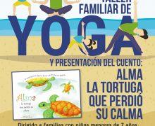 Yoga y literatura infantil en Playa Blanca