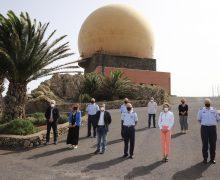 Gobierno de Canarias y Ministerio de Defensa colaborarán en la restauración de hábitats de Famara