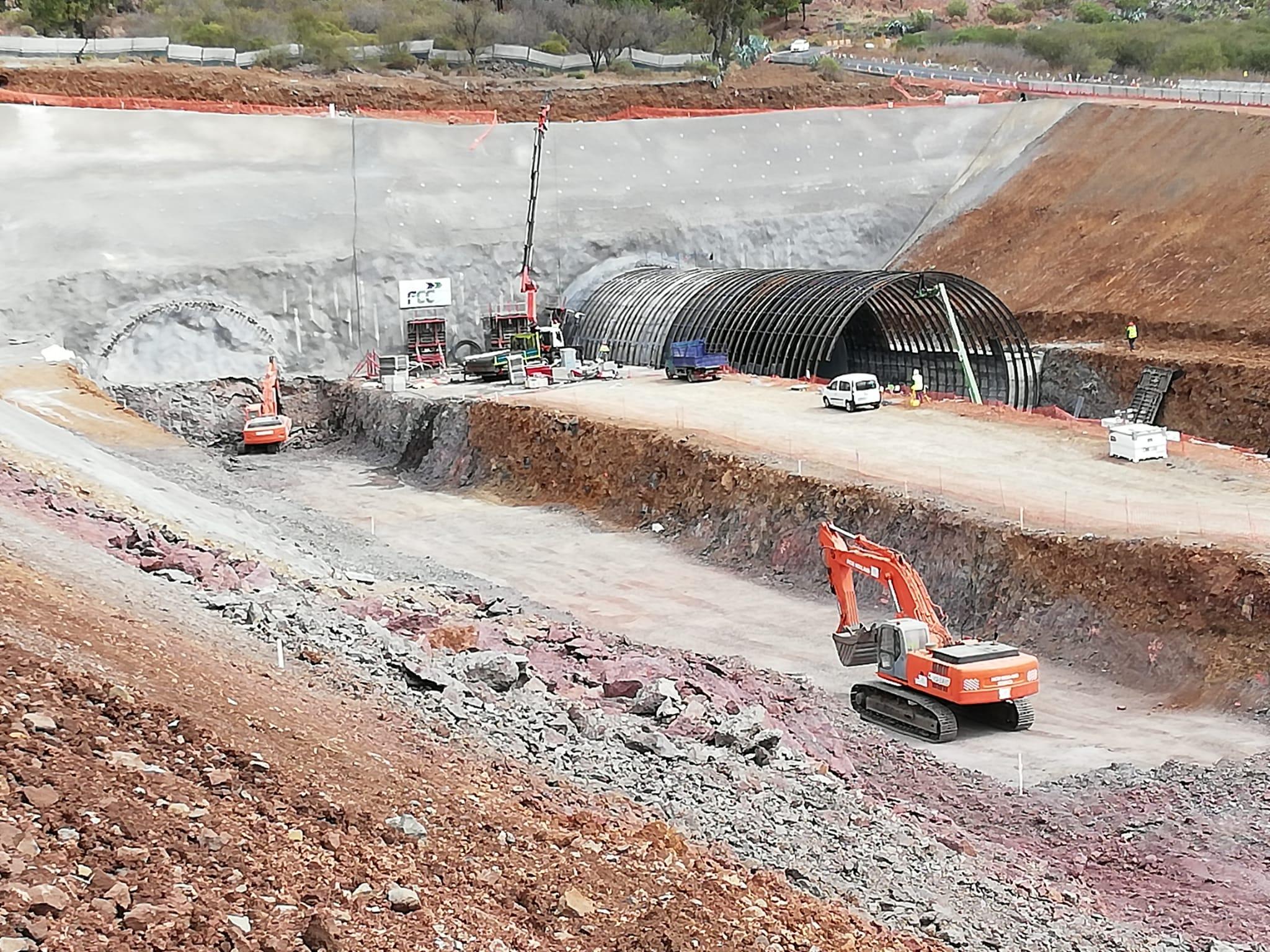 Obras Públicas establece medidas correctoras en las obras del Anillo Insular para evitar la generación de polvo