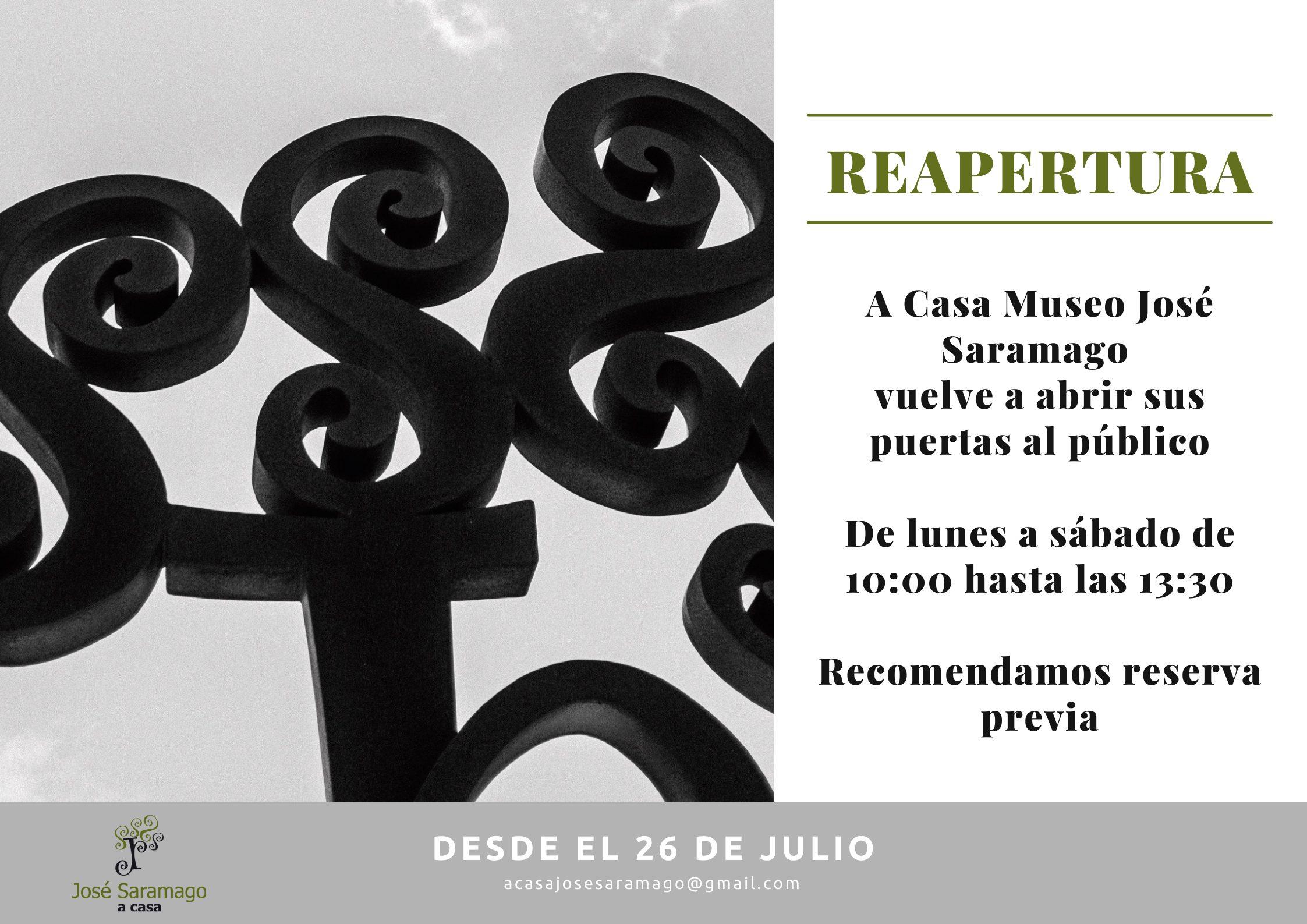 Reapertura A Casa Museo José Saramago