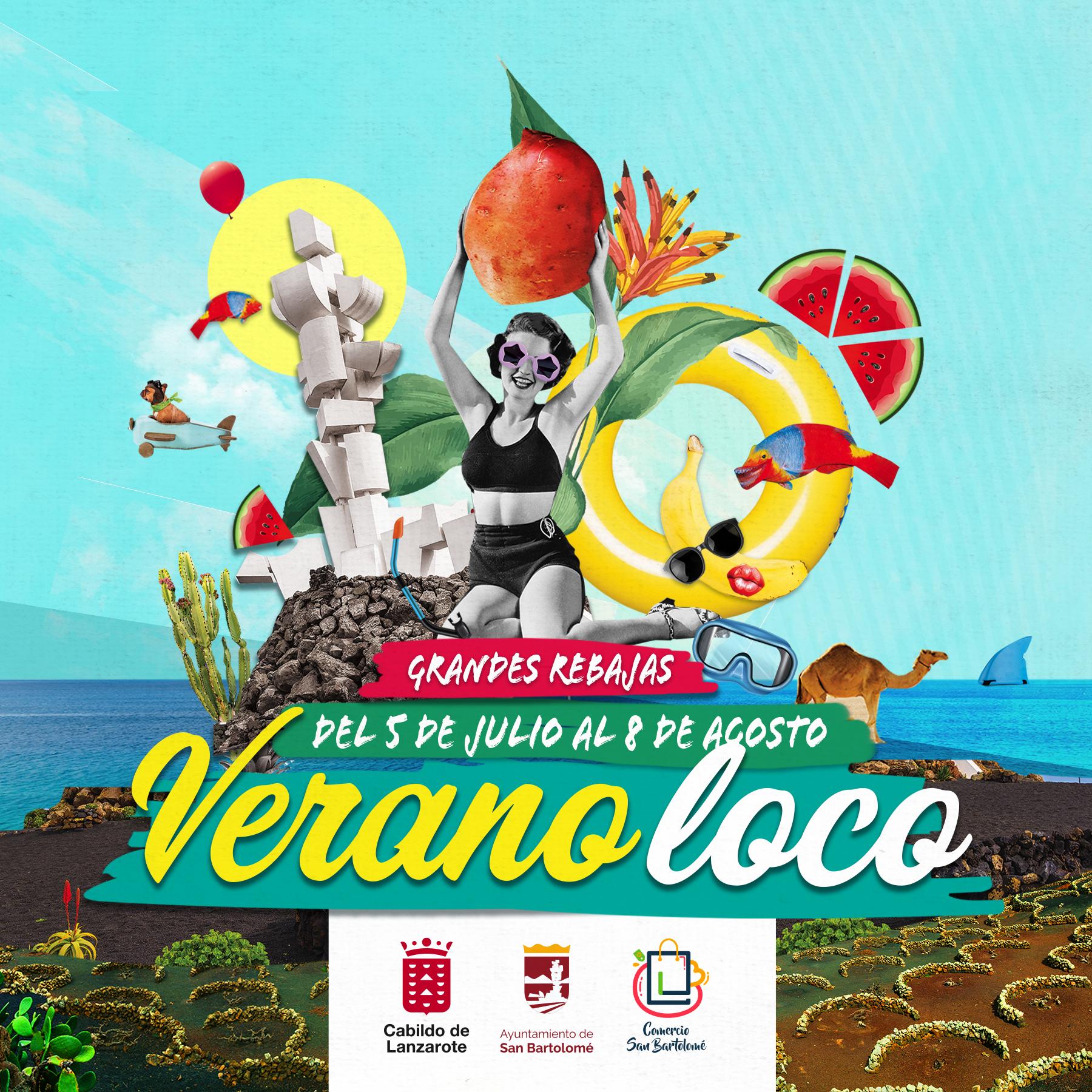 """San Bartolomé lanza la campaña """"Verano Loco"""" para activar el comercio y fidelizar al cliente local y visitante"""