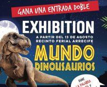 Visita de Dinodede a Biosfera Plaza