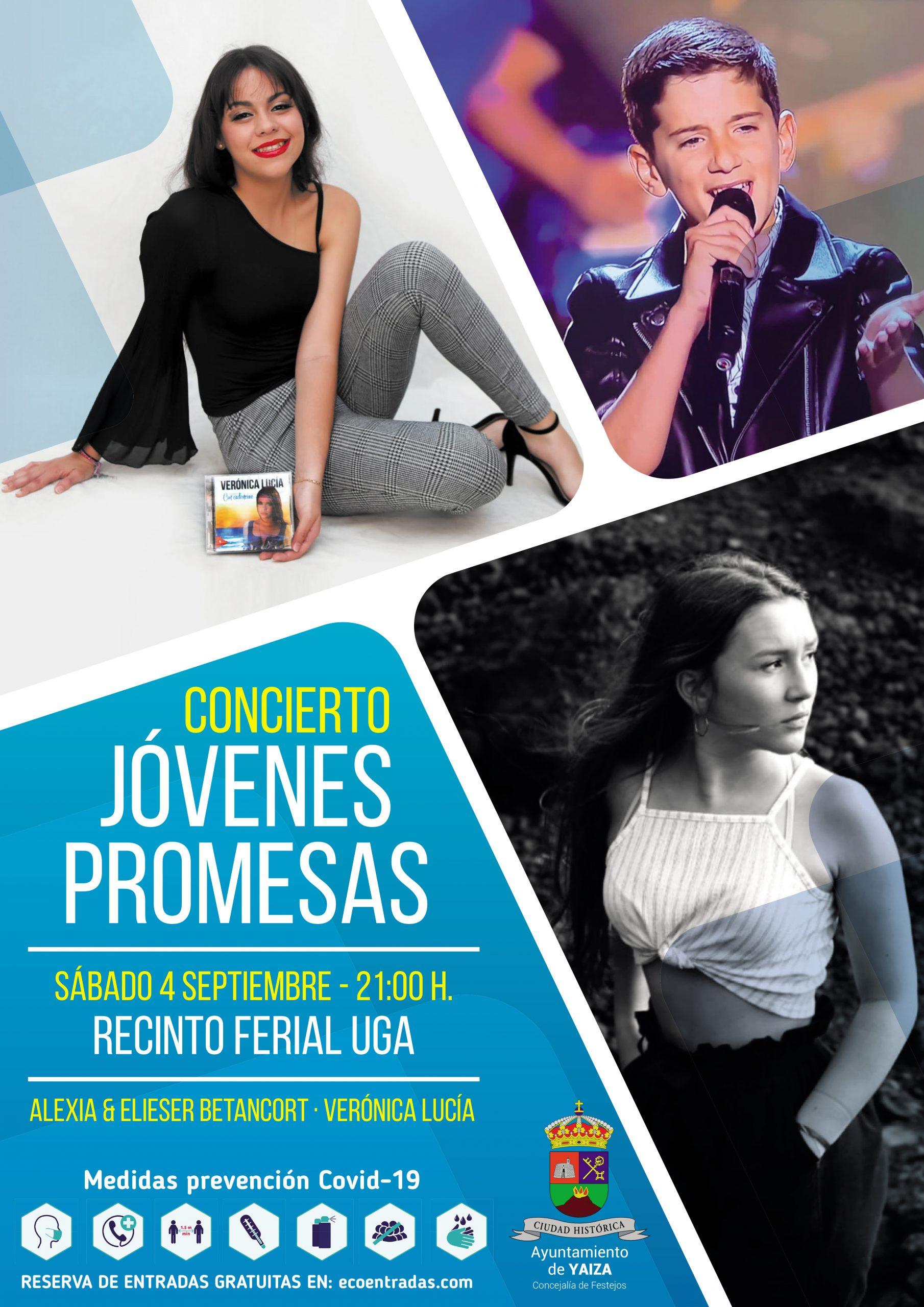 Alexia, Verónica Lucía y Elieser vuelven al escenario este sábado en Uga