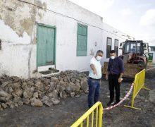 Comienza la restauración del empedrado de la calle León y Castillo de la Villa de Teguise