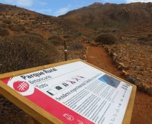 El Gobierno de Canarias inaugura un tramo del sendero experimental de Toto, en Fuerteventura