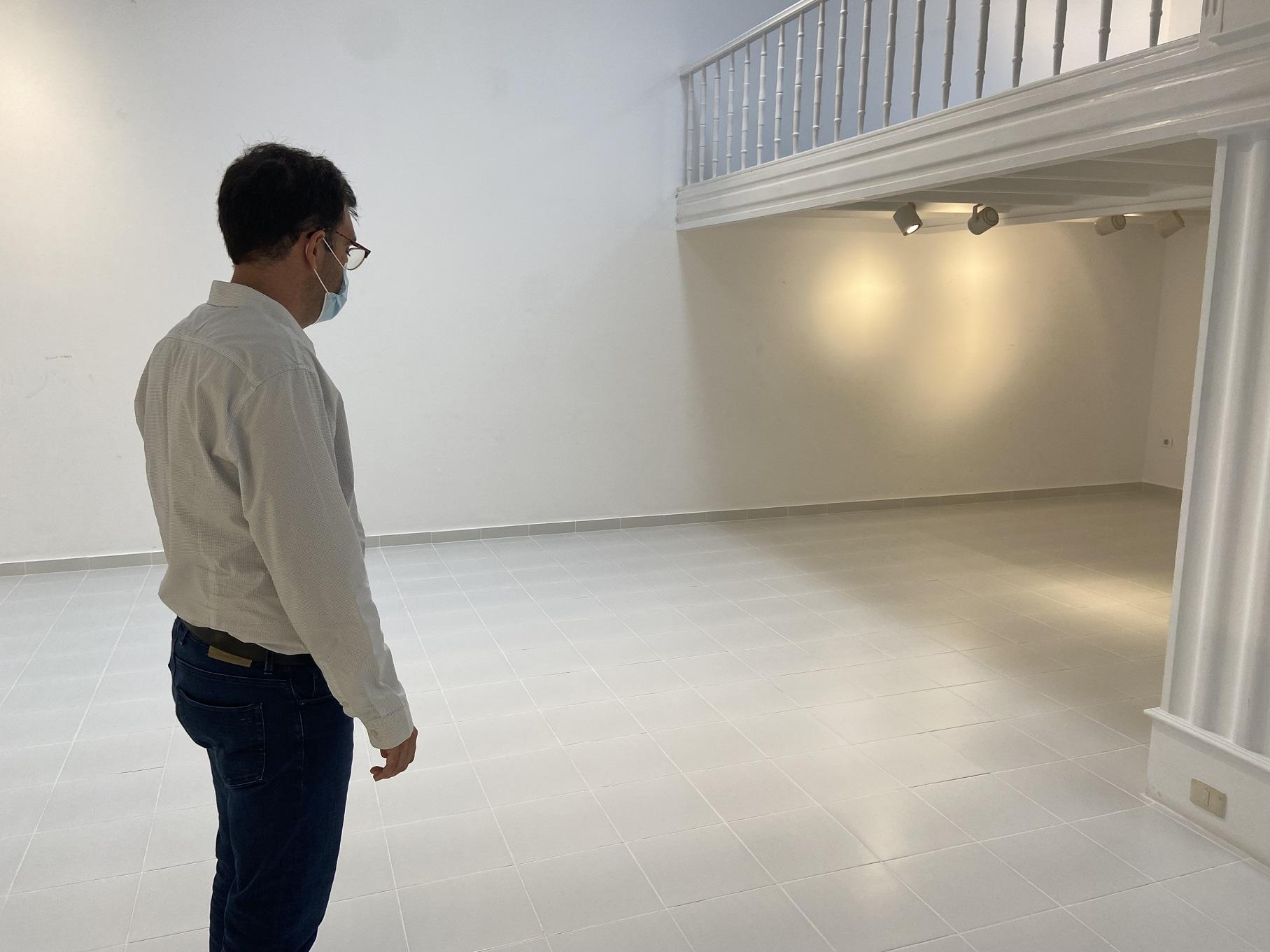 El Cabildo de Lanzarote instala un sistema de videovigilancia en las salas de exposiciones del CIC El Almacén