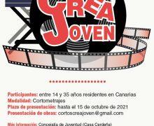 Hasta el 15 de octubre estará abierto el plazo para presentar cortometrajes en el XIII Certamen Crea Joven 2021
