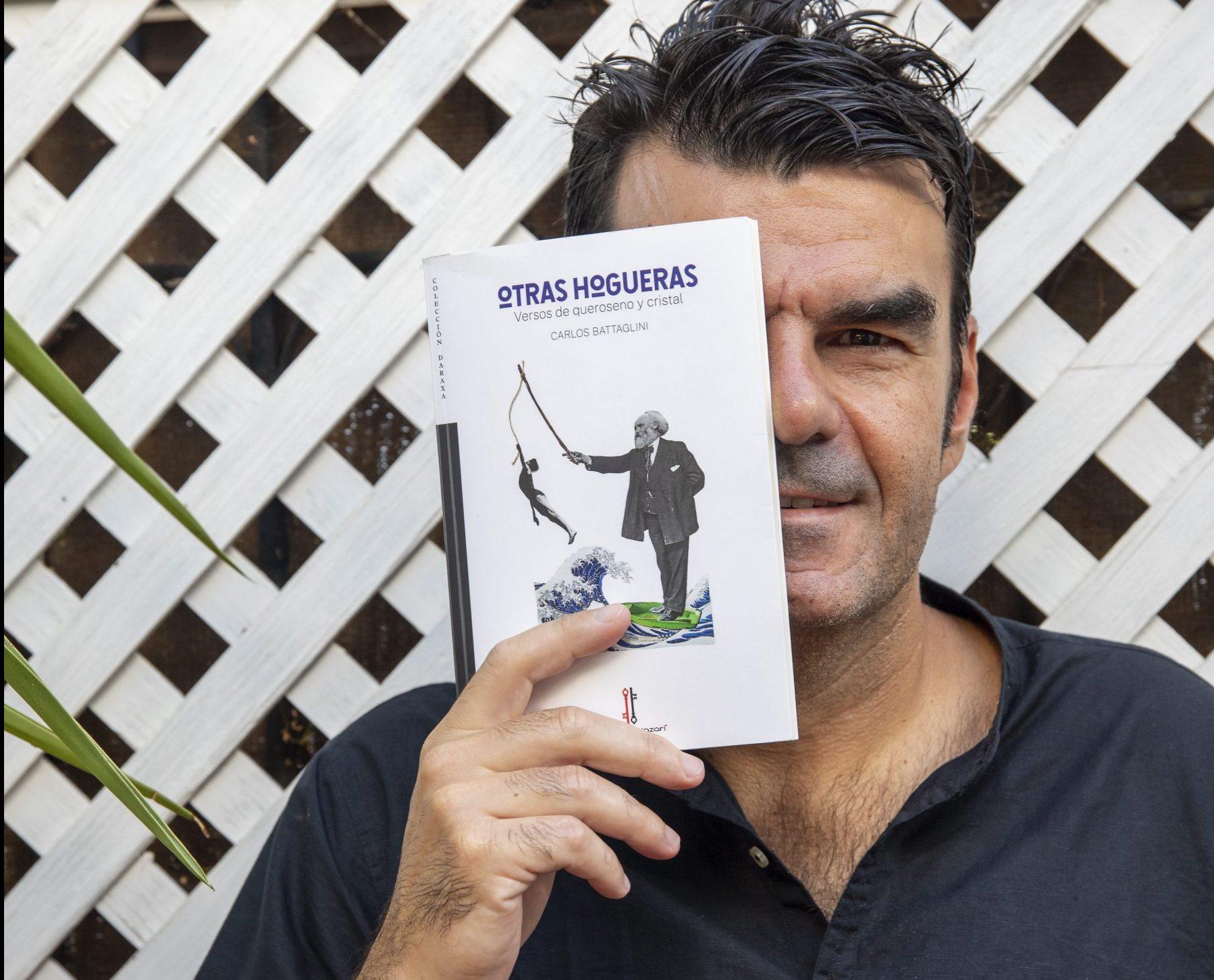 """Presentación del libro """"Otras hogueras"""" de Carlos Battaglini el Jueves 30 de Septiembre en el Centro Cívico de Arrecife"""