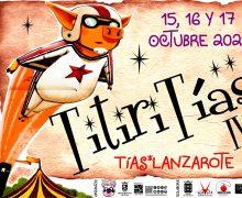 Vuelve el IV Festival Solidario de Artes Escénicas TitiriTías el día 15, 16 y 17 de octubre a Tías