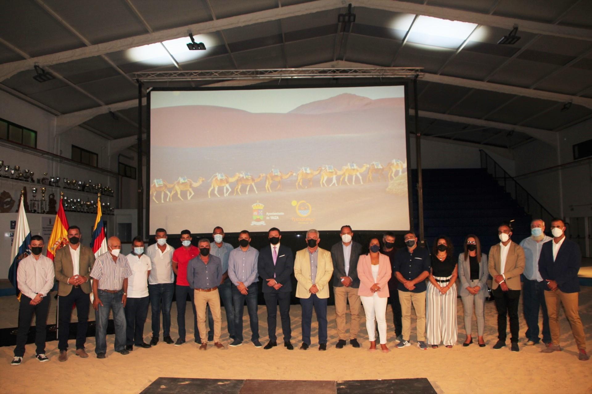 Yaiza acentúa la figura del camello y del sector camellar en la historia del municipio