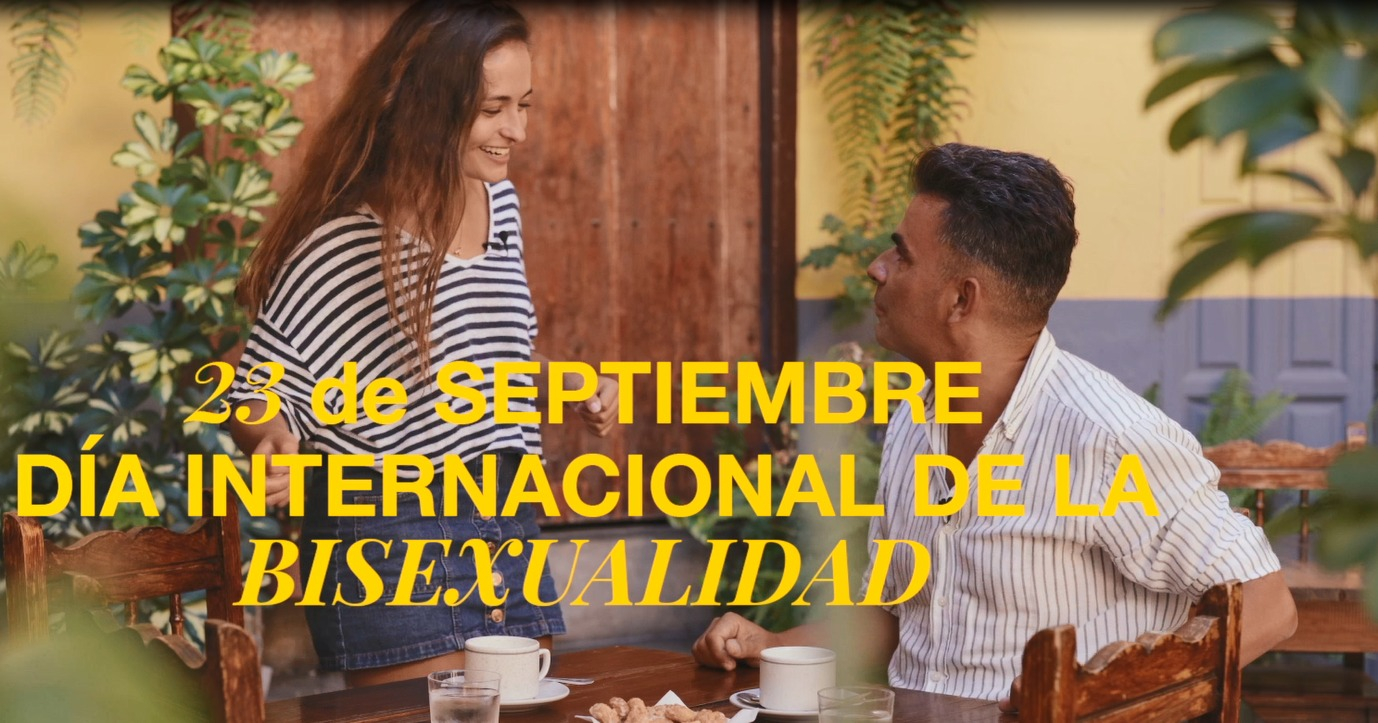 Diversidad presenta una campaña por el Día internacional de la bisexualidad