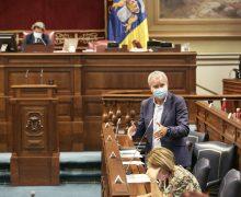 """Franquis: """"Estamos en disposición de entregar a principios de octubre las primeras casas a afectados por el volcán"""""""