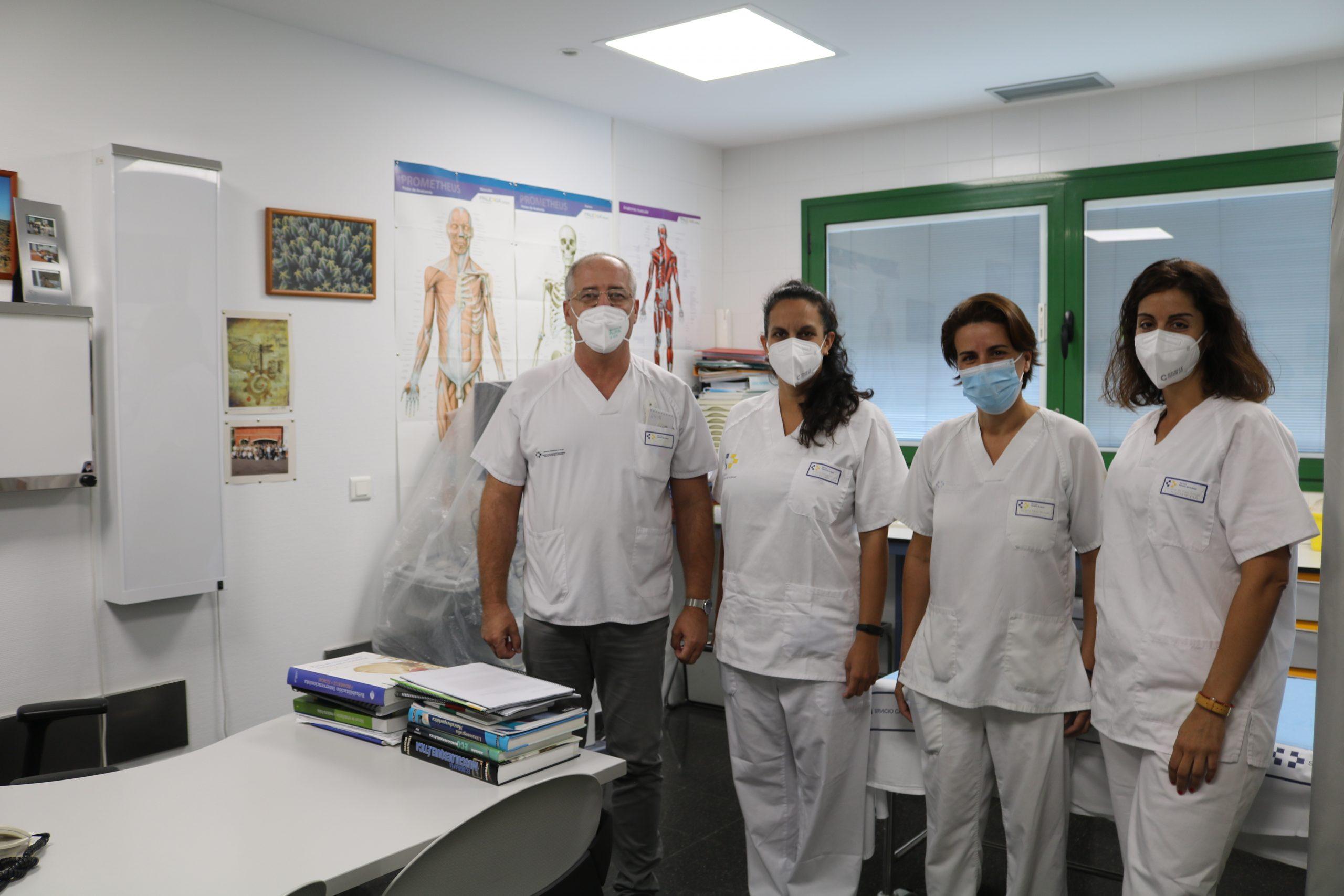El Hospital Dr. José Molina Orosa incorpora la terapia de logopedia al servicio de Rehabilitación