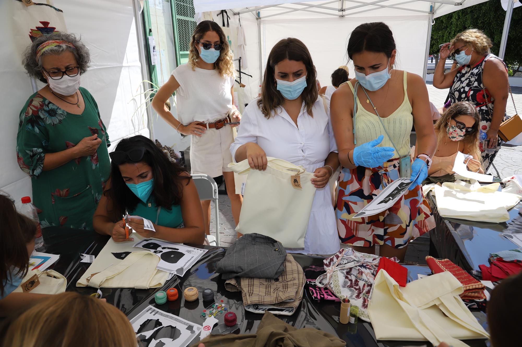 Culmina la Eco Academia con la celebración del Mercadillo- Trueque en Playa Honda