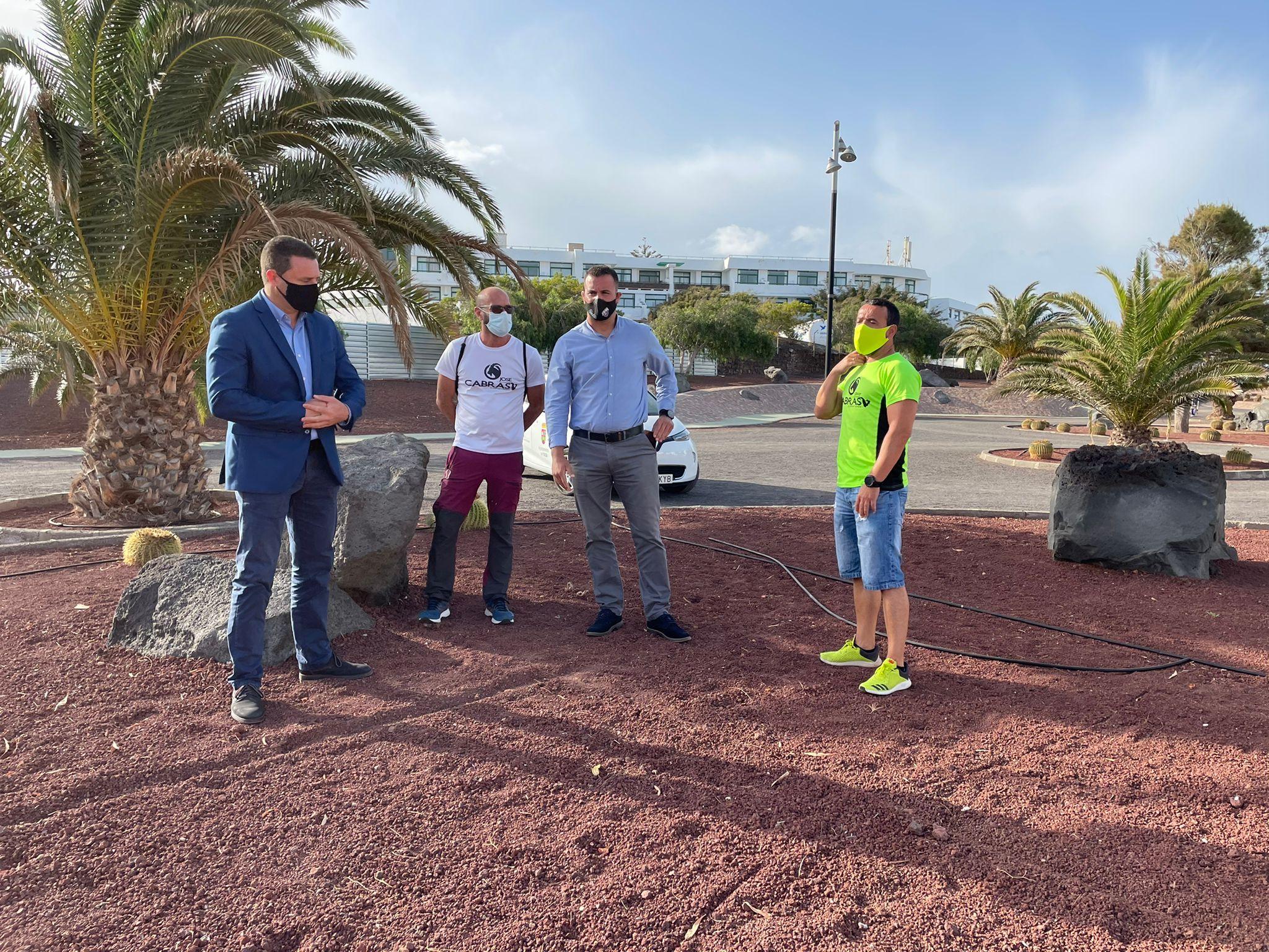Yaiza contrata la instalación de un rocódromo de escalada en el Parque del Mediterráneo