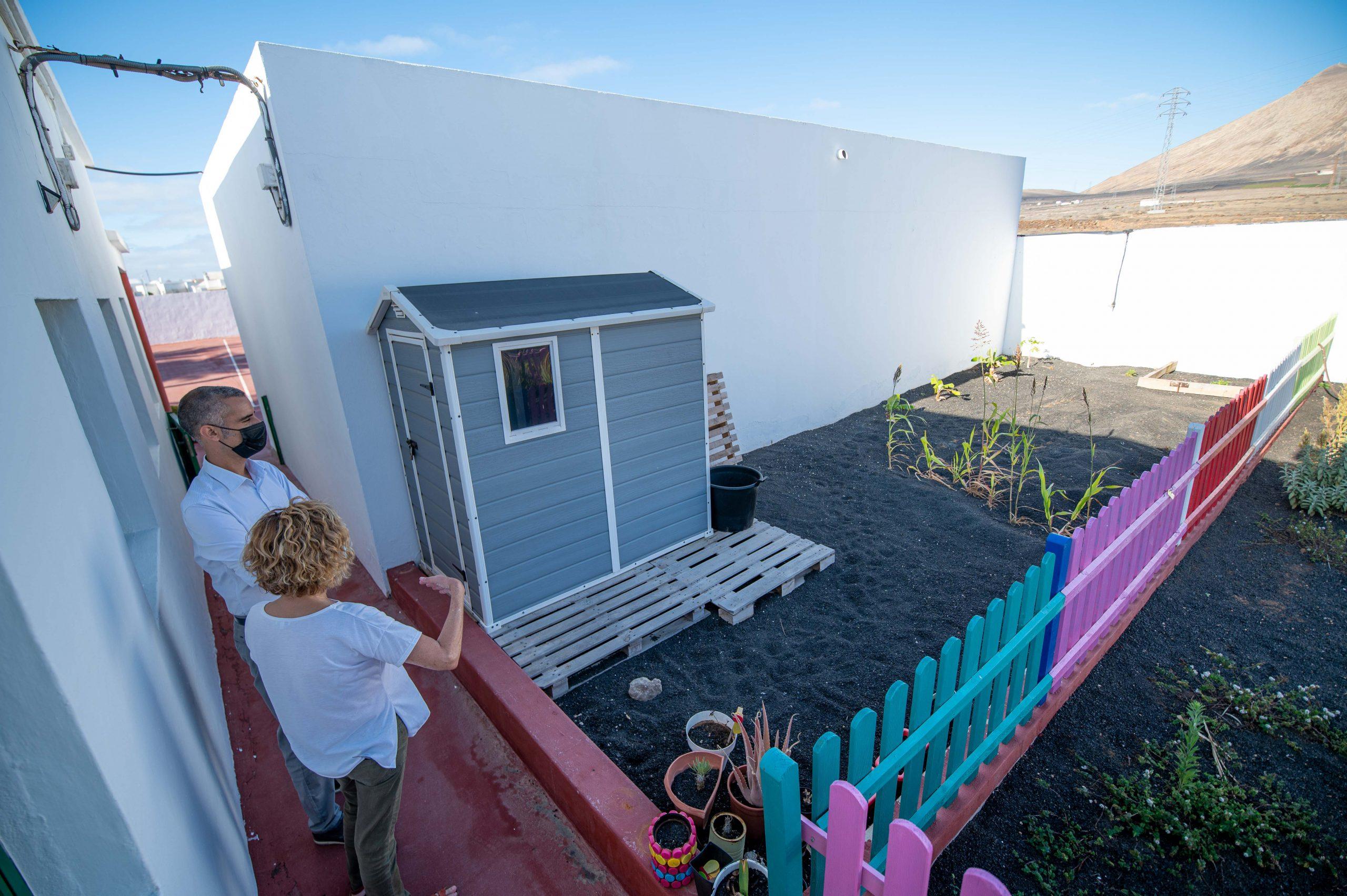 El CEIP Güime ampliará sus instalaciones con una nueva sala de uso polivalente y un baño adaptado
