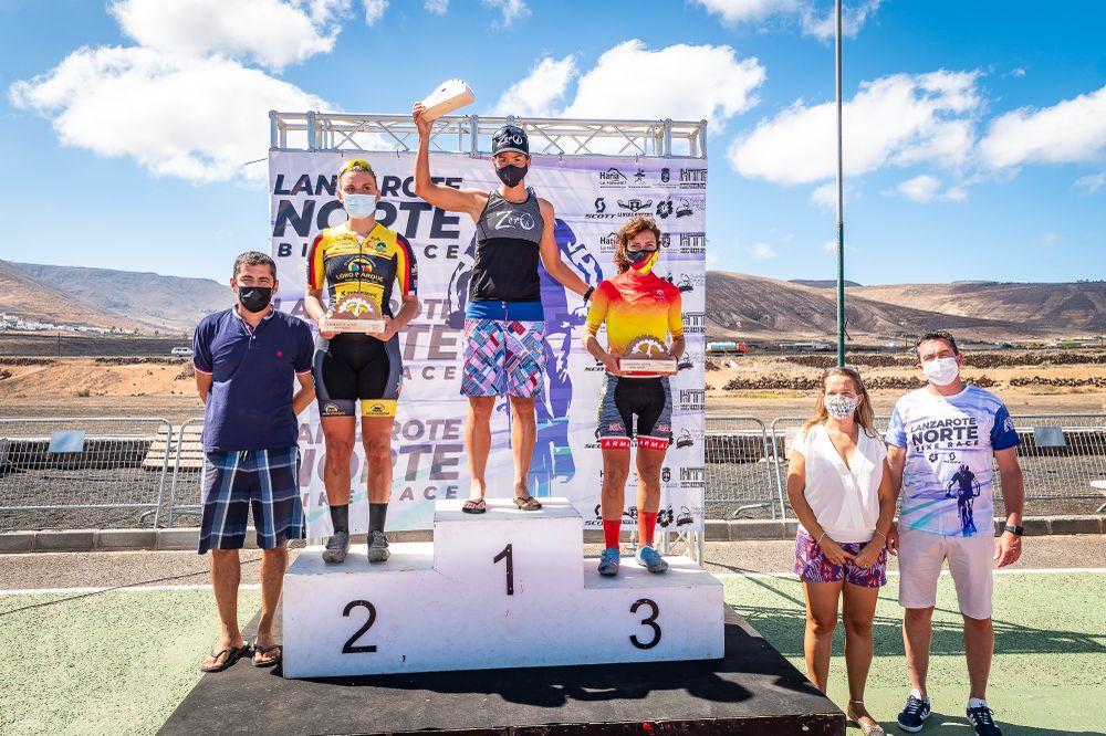 Haría acoge la prueba ciclista 'Lanzarote Norte Bike Race 2021'