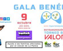 Gala Benéfica Liga Videojuegos Canaria