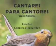 """El compositor Eusebio Cabrera presenta su libro """"Cantares para cantores. Coplas canarias"""""""