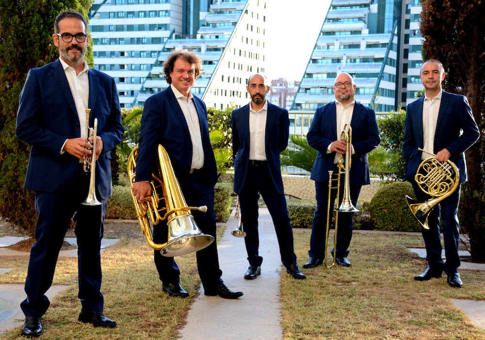 Concierto Benéfico a favor de Barrios Orquestados Spanish Brass en el Teatro Municipal de Tías
