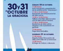 Líneas Romero y la Federación Insular de Vela Latina de Lanzarote celebran el I Encuentro de Vela Latina Isla de La Graciosa