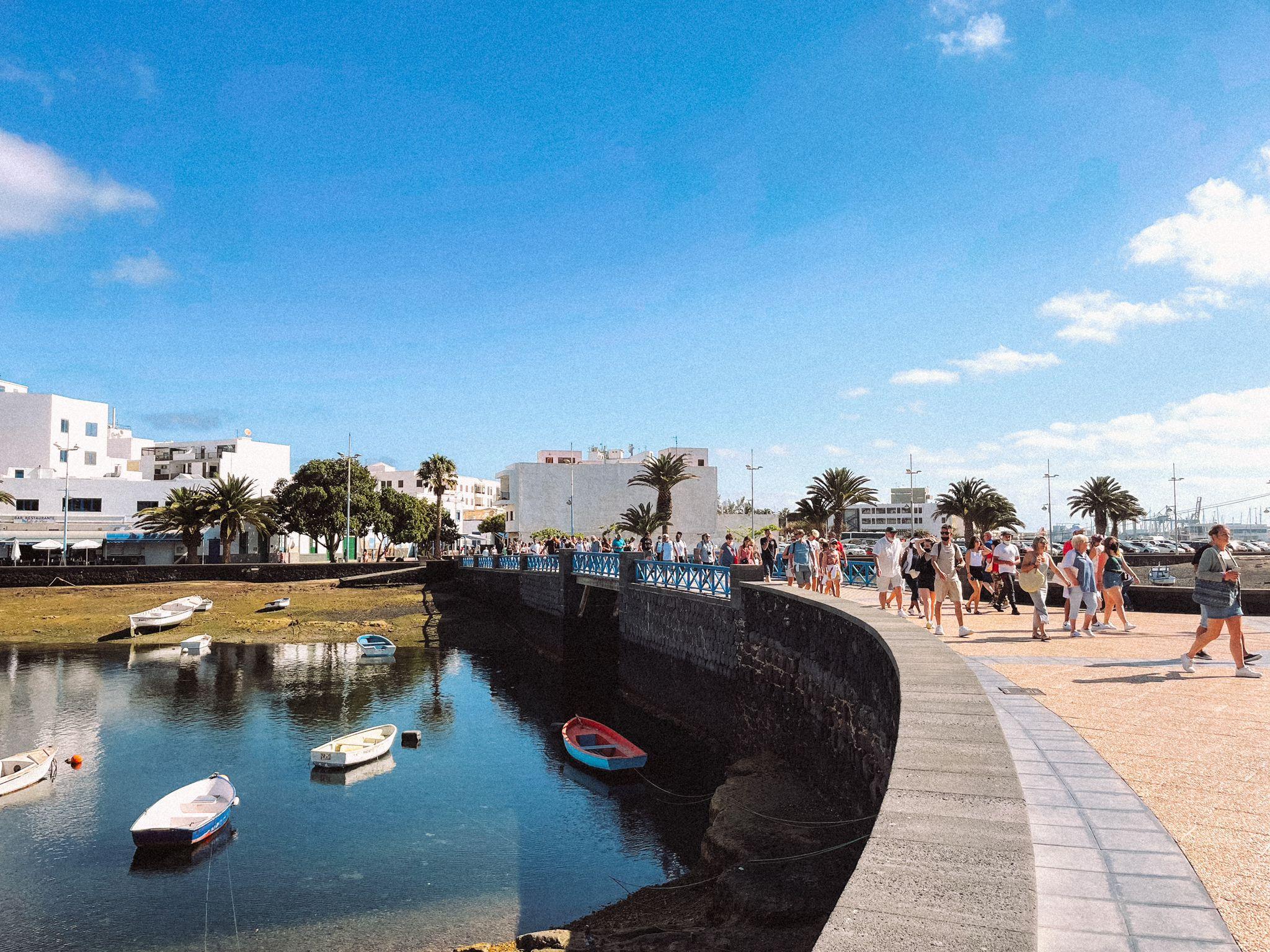 Arrecife es el segundo lugar más visitado por los turistas que llegan a Lanzarote