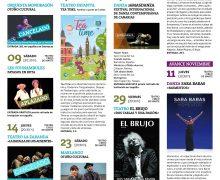 Santa Cruz de La Palma presenta una programación cultural para octubre marcada por la solidaridad