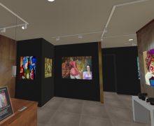 Espacio virtual 3D, generado por Eduardo Fariña y Lanzarote Art Gallery