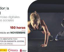 Curso de Entrenad@ personal + Competencias digitales y habilidades sociales en la Cámara de Comercio de Lanzarote