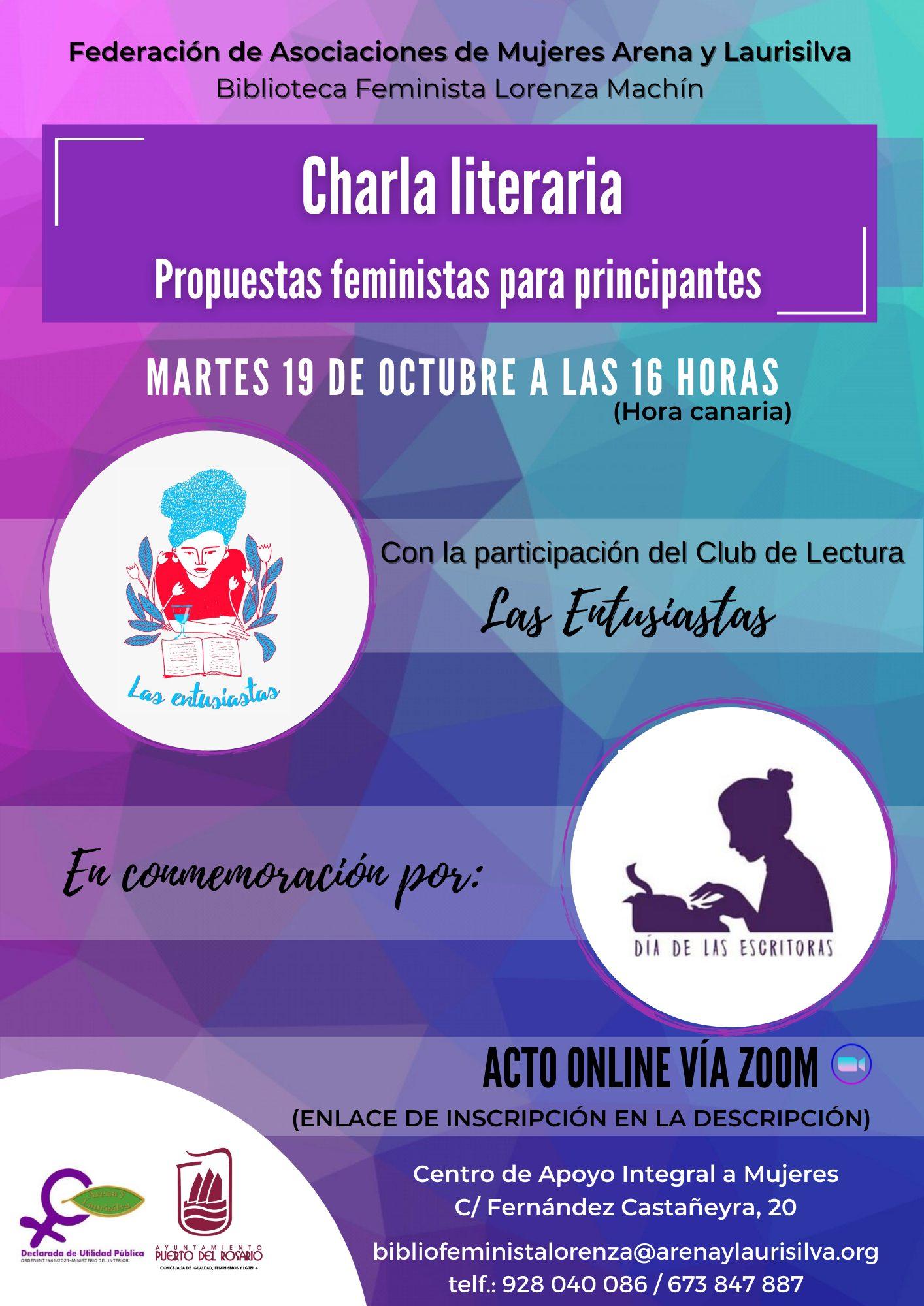 Biblioteca Feminista Lorenza Machín de la Federación de Asociaciones de Mujeres Arena y Laurisilva
