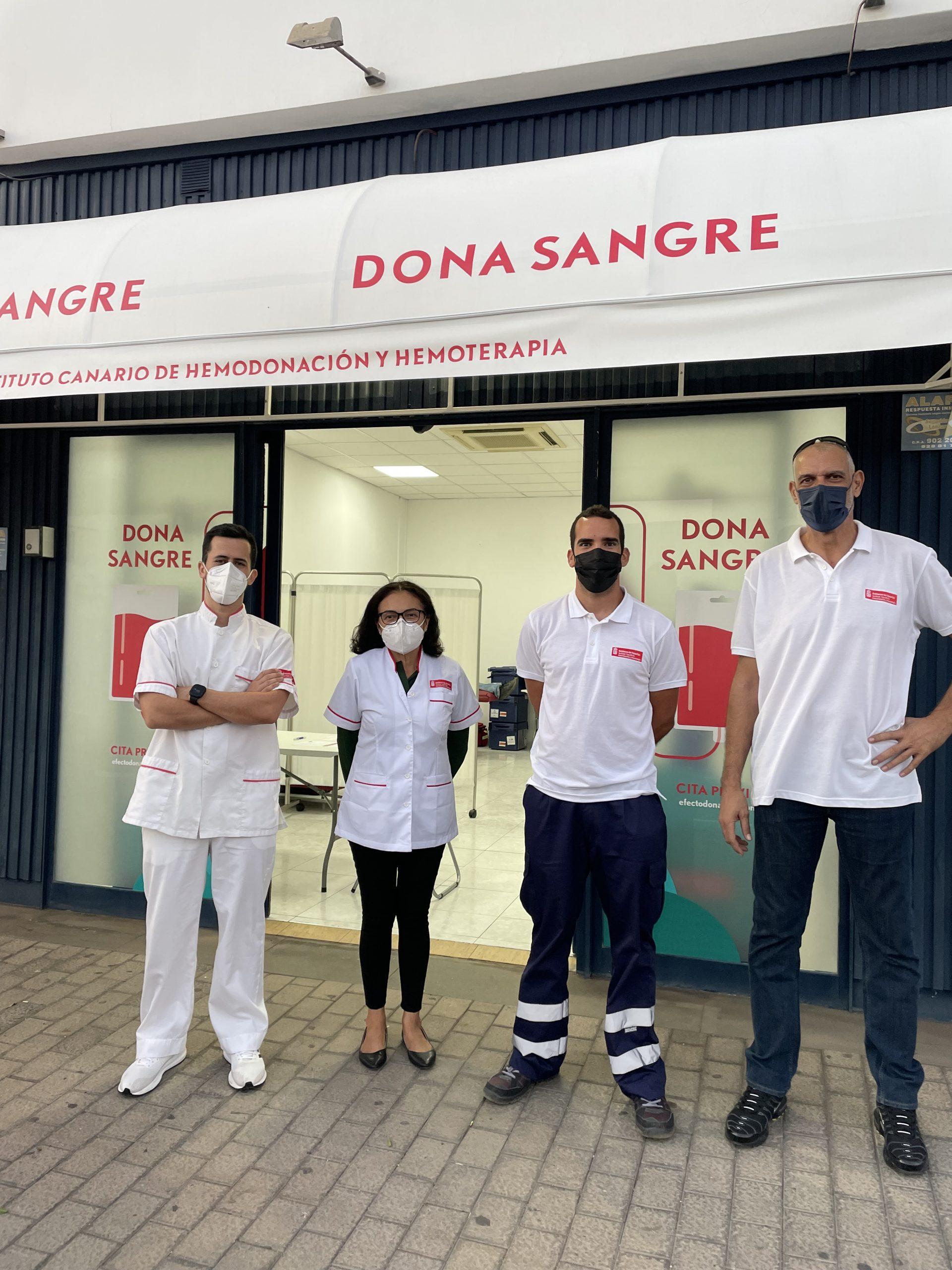 El ICHH comienza su campaña en Lanzarote en el Centro Comercial Deiland