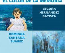 """Arrecife inauguró la exposición """"El color de la memoria"""" en la Casa de la Cultura """"Agustín de la Hoz"""""""